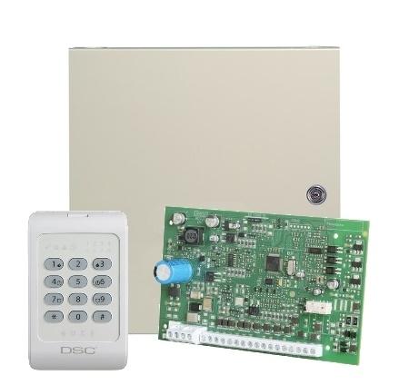 Приемно-контрольный прибор серии POWER KIT04-1WENG