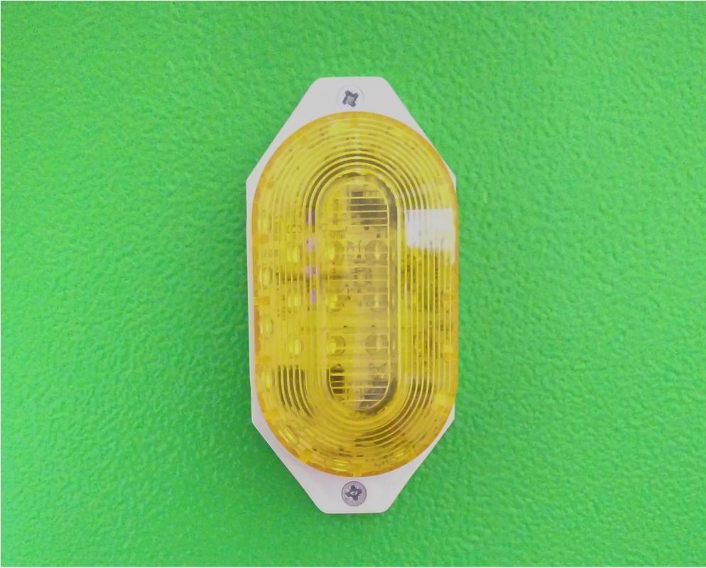 Строб лампа Светодиодная Строб-лампа накладная, жёлтая