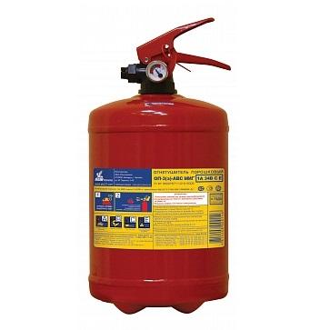 Огнетушитель порошковый ОП-3(з) МИГ d147 (1А, 34В, С, Е)