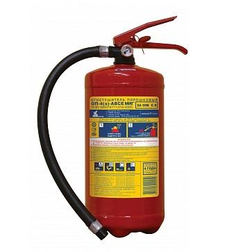 Огнетушитель порошковый ОП-4(з) МИГ М  (2А, 55В, С, Е)
