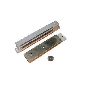 Электромагнитный замок Aler AL-300 Premium (корич)