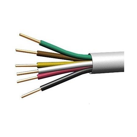 Соединительный кабель для ПД, ПДС,ПК (КСПВ 6х0,4) 80м