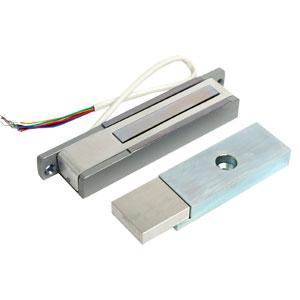 Электромагнитный замок Aler AL-150 Premium (бел) 24V