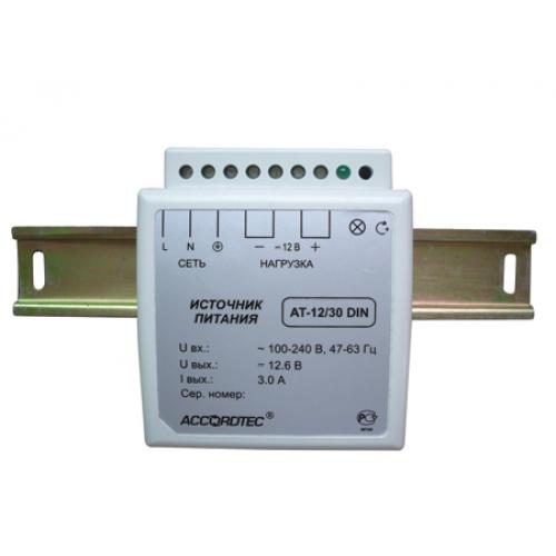 Блоки питания AccordTec БП AT-12/30 DIN