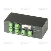 Передача RS232, RS485 сигналов RS004