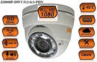Купольная IP видеокамера J2000IP-DWV312-Ir3-PDN
