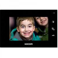 Видеодомофон для цифрового домофона KCV-A374SD (черный) 12V версия