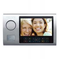 Цветной монитор видеодомофона без трубки (hands-free) KW-S701C-M200 серебро УЦЕНКА