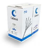 """Кабель для сетей Cabeus UTP-4P-Cat.5e-SOLID-GY Кабель """"витая пара"""" внутренний"""
