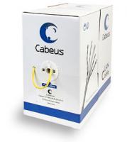Кабель для сетей Cabeus UTP-4P-Cat.5e-SOLID-YL желтый