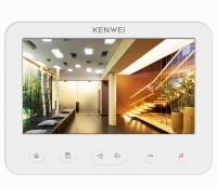 Видеодомофон для цифрового домофона KW-E706C белый DIGIT