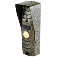 Вызывная панель цветного домофона Сатро-305 (500 PAL CMOS) Бронза