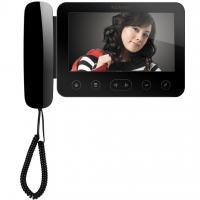 Видеодомофон для цифрового домофона KW-E705FC-W200 черный XL