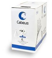 Кабель для сетей Cabeus UTP-4P-Cat.5e-SOLID-WH, белый