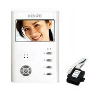 Цветной монитор видеодомофона без трубки (hands-free) KW-E430C Vizit белый