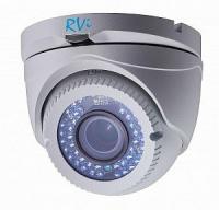 Уличная антивандальная купольная TVI видеокамера RVi-HDC321VB-T (2.8-12 мм)