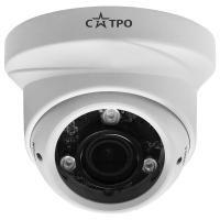 Уличная антивандальная купольная MHD видеокамера САТРО-VC-MDV20V VP2 (2.8-12)