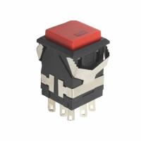 Кнопка выхода Кнопка с фиксацией с красным диодом KD2-21