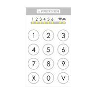 Платы ППКОП и клавиатуры Proxyma ТК-306-W (цвет белый)