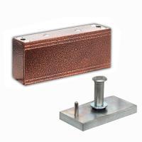 Электромагнитный замок М1-150 медный антик