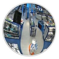 Обзорные зеркала безопасности Зеркало DL 430 мм (белое)