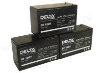 Свинцово-кислотный аккумулятор Акк.Delta DT 1207