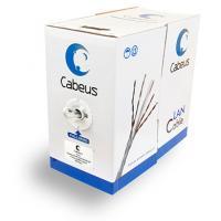 Cabeus Cabeus FTP-4P-Cat.5e-SOLID-GY Кабель витая пара