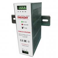 Источник питания с регулировкой напряжения 75W/12-24V/DIN