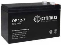 Свинцово-кислотный аккумулятор Акк. OP 12-7