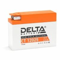 Свинцово-кислотный аккумулятор Акк. Delta CT 12025