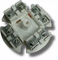Коробка монтажная (распределительная) УК-2Р с резистором
