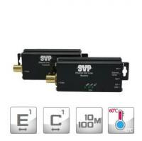 Устройство для передачи Ethernet по коаксиальному кабелю SVP-E1100C-R-MT