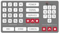 Прибор приемно-контрольный охранно-пожарный на 8-10 шлейфов