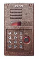Видеодомофон для координатного домофона Eltis DP400-RD24 (медь)