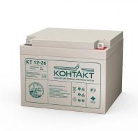 Свинцово-кислотный аккумулятор КТ 12-26