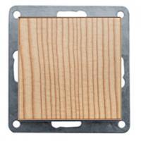 Розетки и выключатели Выключатель 1-кл. (схема 1) 16 A, 250 B (сосна) LK60 (860125)