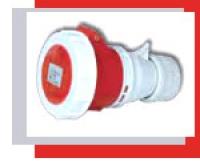 Розетки и выключатели 309.2141 Прямая переносная защищенная розетка3П+З 16A (85016)