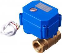 Защита от протечки воды Кран шаровой с электроприводом 3/4 CWX-25S 12В (DN20)
