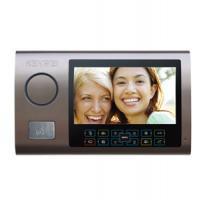 Цветной монитор видеодомофона без трубки (hands-free) KW-S701C бронзовый