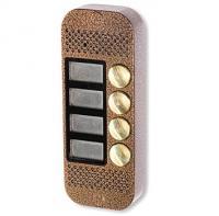 Многоабонентская панель цветного видеодомофона JSB-V084K PAL (медь)