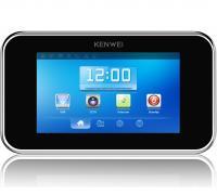 Цветной монитор видеодомофона без трубки (hands-free) KW-S702TC черный тач скрин