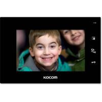 Видеодомофон для цифрового домофона KCV-A374SD (черный) XL