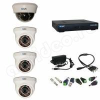 Комплект видеонаблюдения Комплект видеонаблюдения 4-1 HD PRO