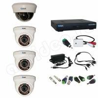Комплект видеонаблюдения Комплект видеонаблюдения 4-1-1 HD PRO с микрофоном