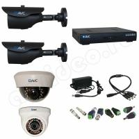 Комплект видеонаблюдения Комплект видеонаблюдения 4-3 HD PRO