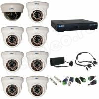 Комплект видеонаблюдения Комплект видеонаблюдения 8-1 HD PRO
