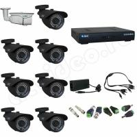 Комплект видеонаблюдения Комплект видеонаблюдения 8-2 HD PRO