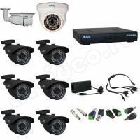 Комплект видеонаблюдения Комплект видеонаблюдения 8-3 HD PRO