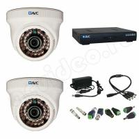 Комплекты видеонаблюдения Комплект 2-1 Full HD видеонаблюдения на 2 камеры