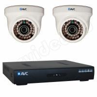 Комплекты видеонаблюдения Комплект 2-1 HD New Level видеонаблюдения на 2 камеры
